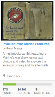 Invasion, the Kickstarter