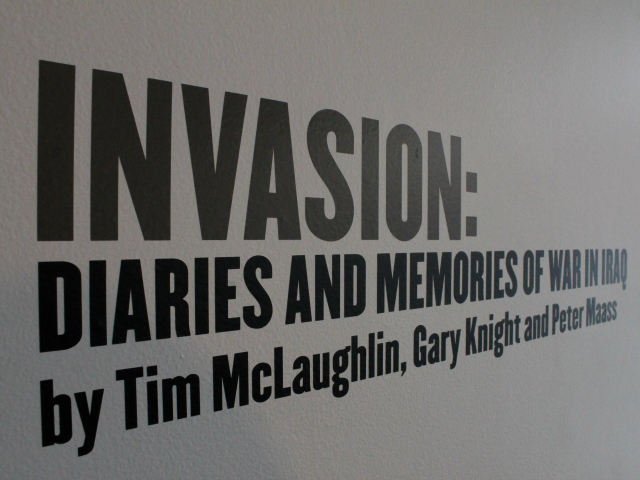 Invasion: Diaries and Memories of War in Iraq